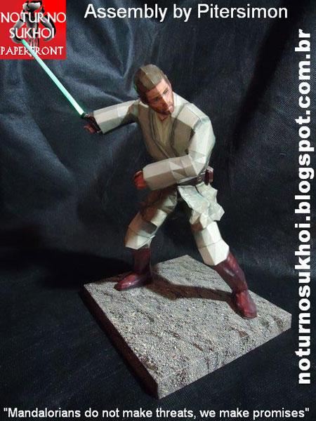 Star Wars Obi Wan Kenobi Papercraft