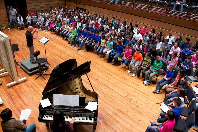 El maestro catalán Josep Vila trabajó también con los Niños Cantores de Venezuela