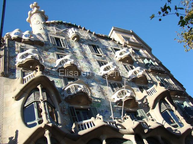 Casa Batló, Modernismo, Barcelona, Elisa N, Blog de Viajes Argentina, Gaudí