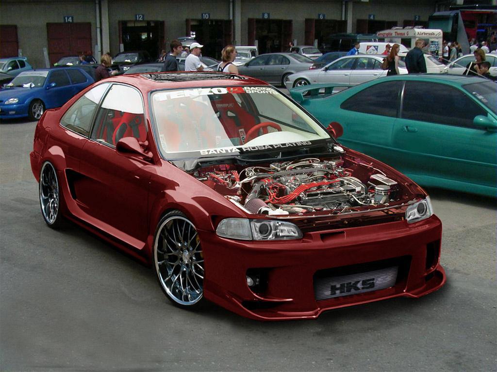 Cars Showroom Honda Civic 1995