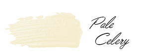 Mission Avenue Studio Paint Color Swatch: Benjamin Moore Pale Celery