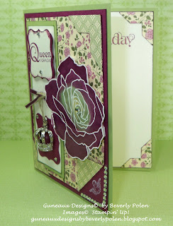 Birthday Card - Springtime Vintage DSP
