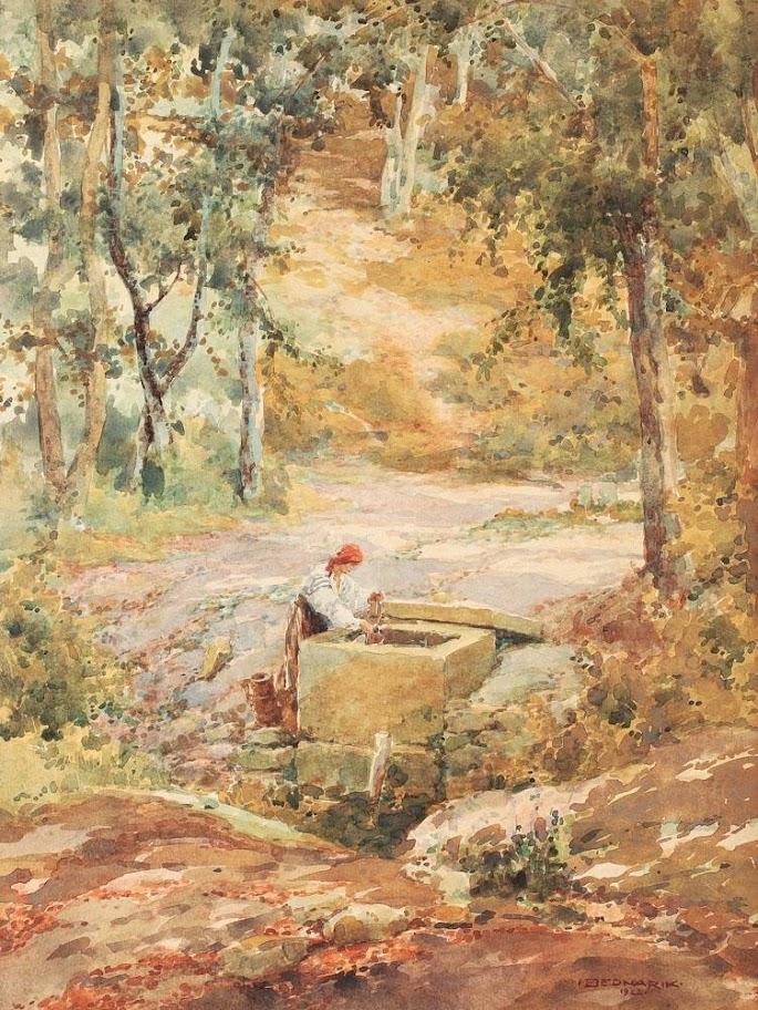 Ignat Bednarik - La fântână