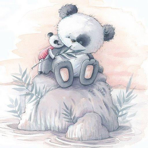 Osos Panda Para Colorear Tiernos Imagui