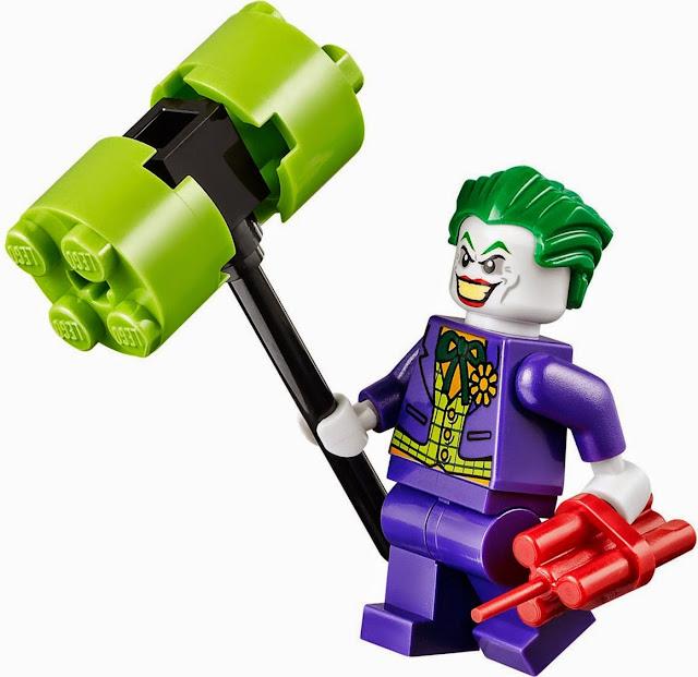 Hình các nhân vật  sinh động đẹp mắt của bộ xếp hình Lego Juniors 10672 Bảo vệ hang dơi
