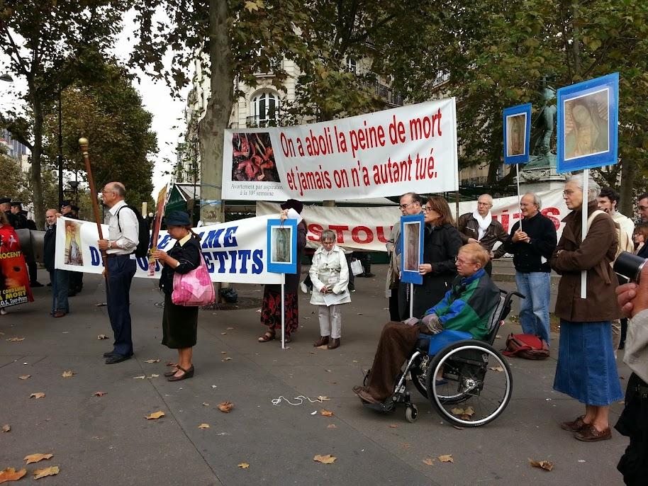 Intégristes catholiques anti-IVG