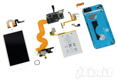 iPod touch第5世代の分解