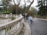 The same curvy walkway up the hill to Sacre Coeur as seen in Amelie