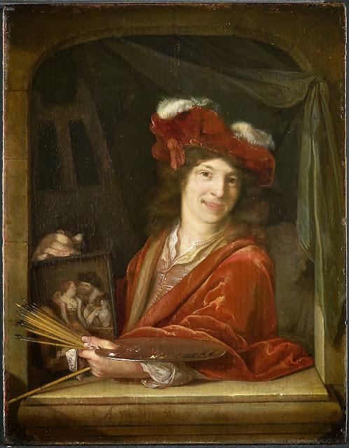 Adriaen van der Werff - Een jonge schilder