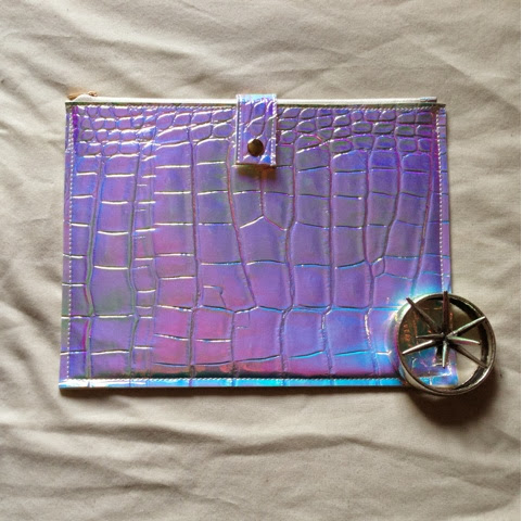 Sammi Jackson - Chicwish Holographic Clutch