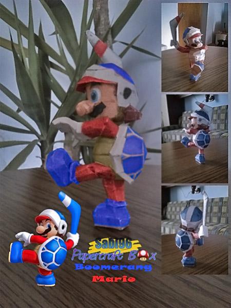 Boomerang Mario Papercraft