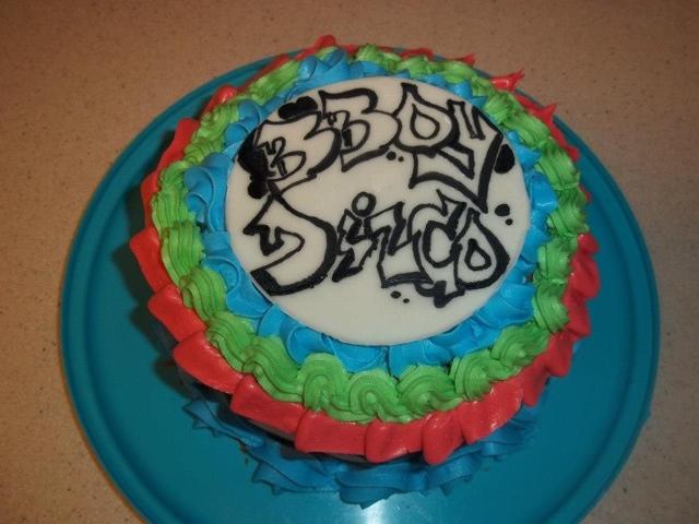Cakes by Khandra Bboy cake