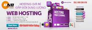 Hosting super rẻ, gấp đôi dung lượng tốc độ ! Dung lượng 1GB / băng thông 20gb !
