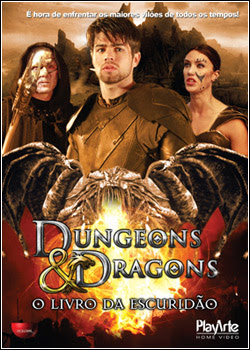Filme Poster Dungeons & Dragons – O Livro da Escuridão BDRip XviD Dual Audio & RMVB Dublado