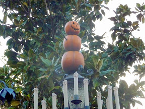 Disneyland Christmas holiday decorations Nightmare before Christmas Haunted Mansion