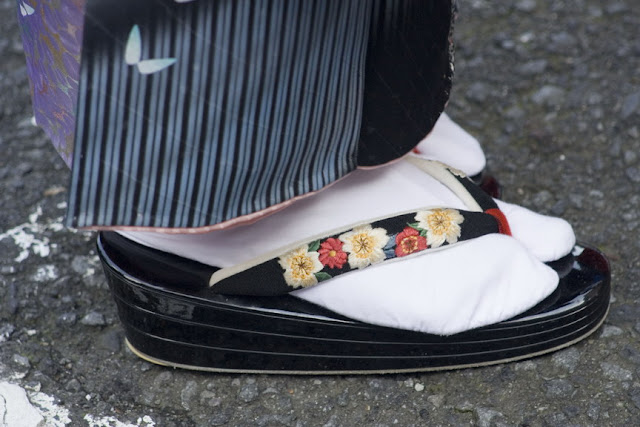 Zapato de geisha, Hakone