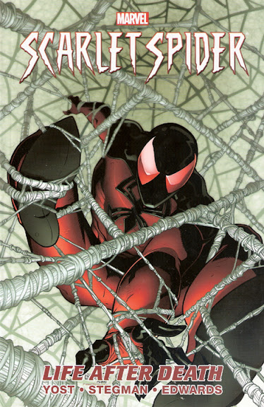 Scarlet Spider, v. 1: Life after Death cover