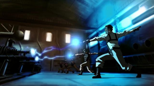 Mako relámpago Avatar Korra