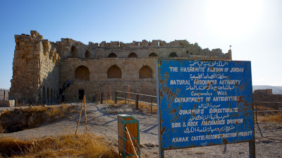 Castle in Karak that has seen occupation from different rulers