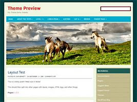 Horse ride Wordpress Theme