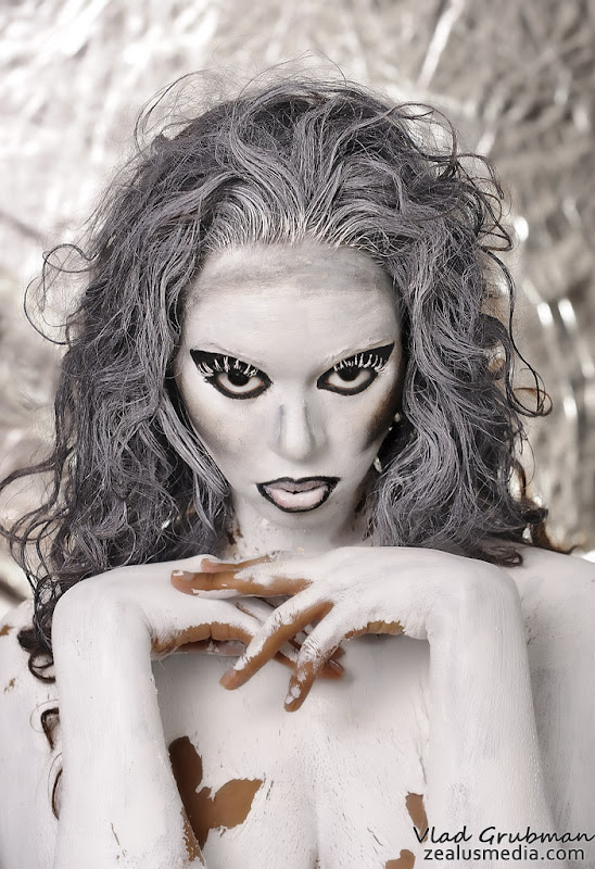 Body Painting Project - photography by Vlad Grubman / Zealus Media