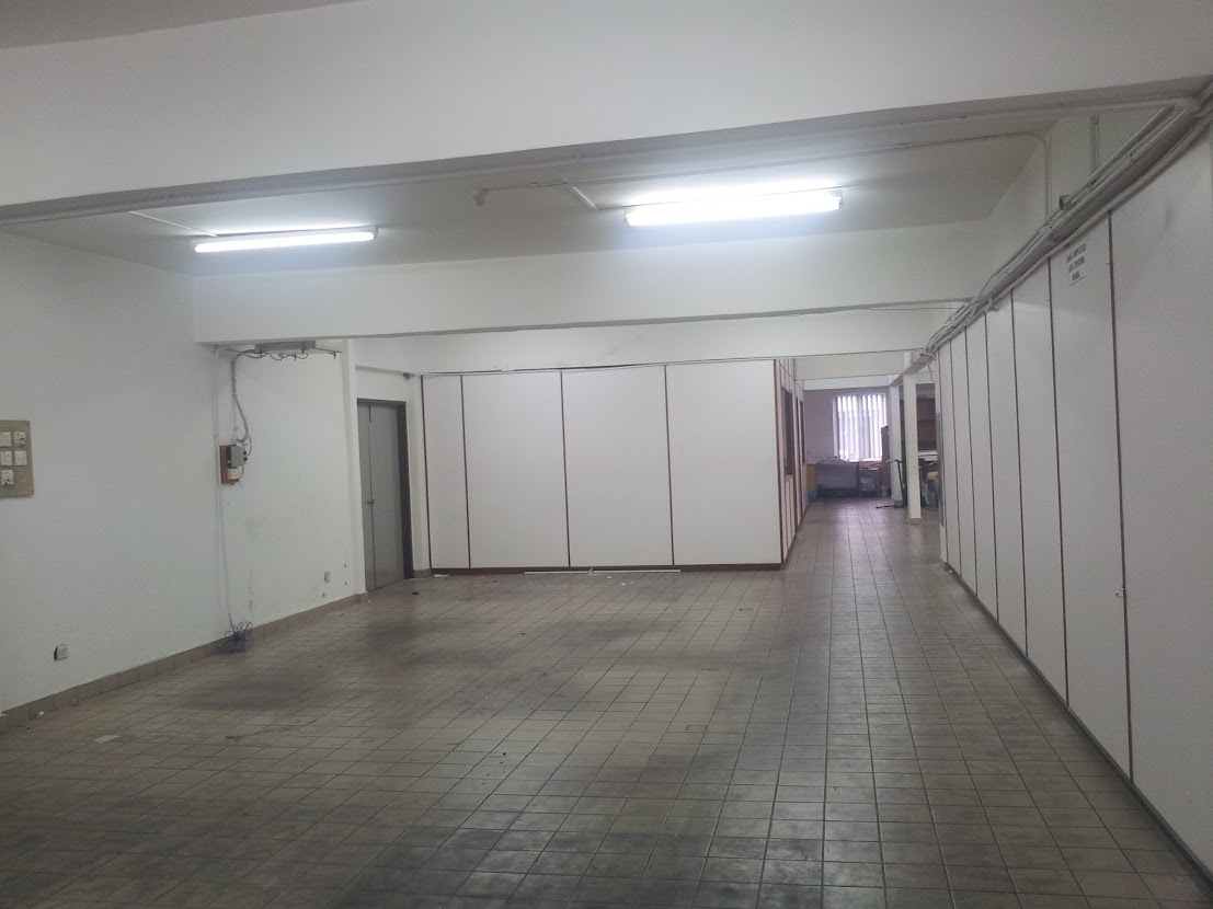 canteen space before renovation