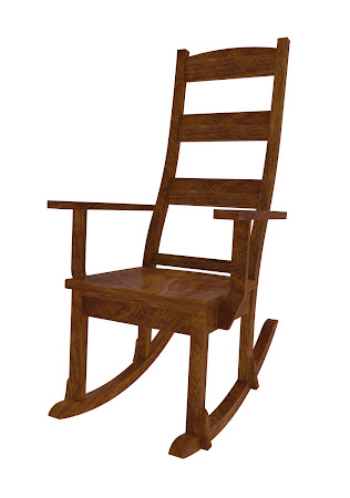 Geneva Rocking Chair in Royal Maple