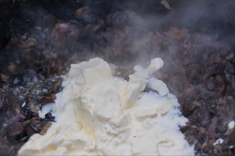 Блюда осеннего леса. Варево из грибов