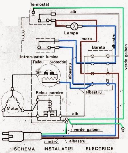 schema electrica Frigider Arctic laquo Scheme Electrice
