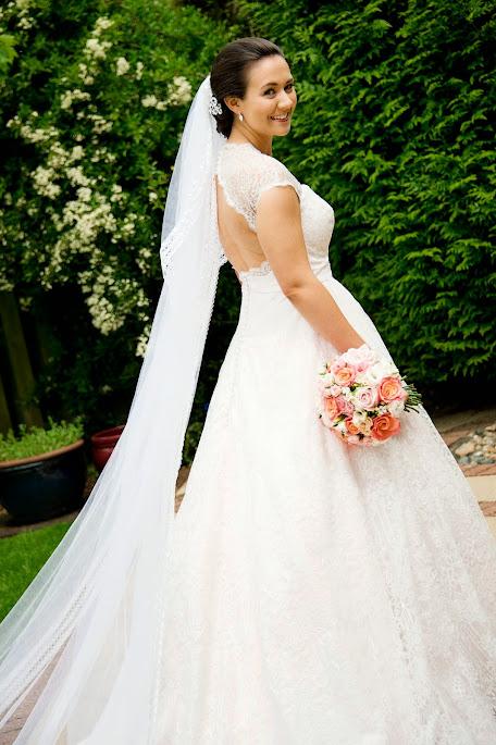 Blush Pink Wedding Dress - Estilo Moda Bridal Reviews