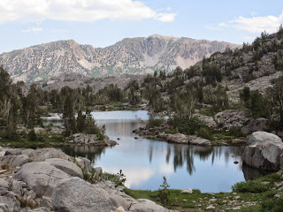 Stella Lake was beautiful! ©http://backpackthesierra.com