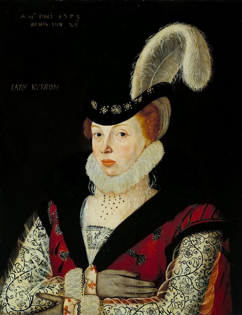 George Gower - Lady Kytson - Google Art Project