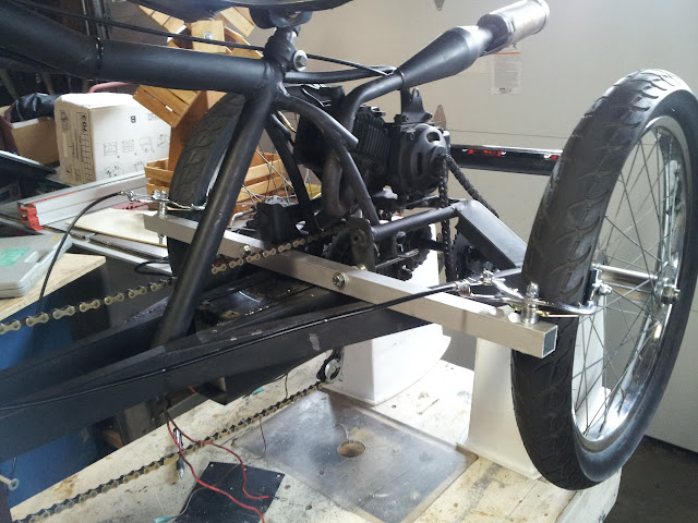 My 1st Bike Trike Moped Project Ever Motorized Bicycle