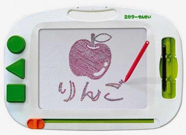 Bảng vẽ từ 2 màu Takara Tomy giúp bé phát triển năng khiếu mỹ thuật