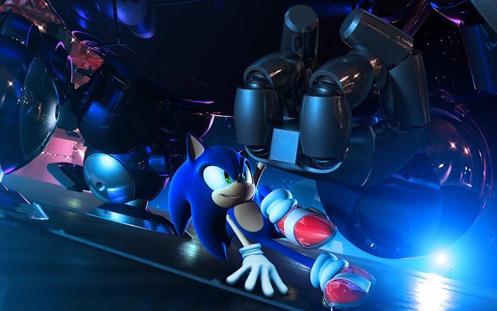 Vài hình nền đẹp về chú nhím xanh Sonic - Ảnh 2