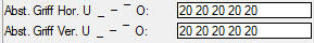 ElementsCAD - individuelle Griffposition wählbar