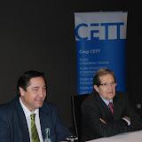 Fotografia de: Visita oficial de l'Hble. Sr. Josep M. Pelegrí, Conseller d'Agricultura al CETT | CETT