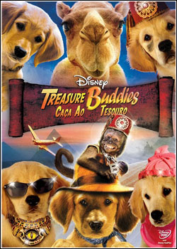 Filme Poster Treasure Buddies  - Caça ao Tesouro DVDRip XviD Dual Audio & RMVB Dublado