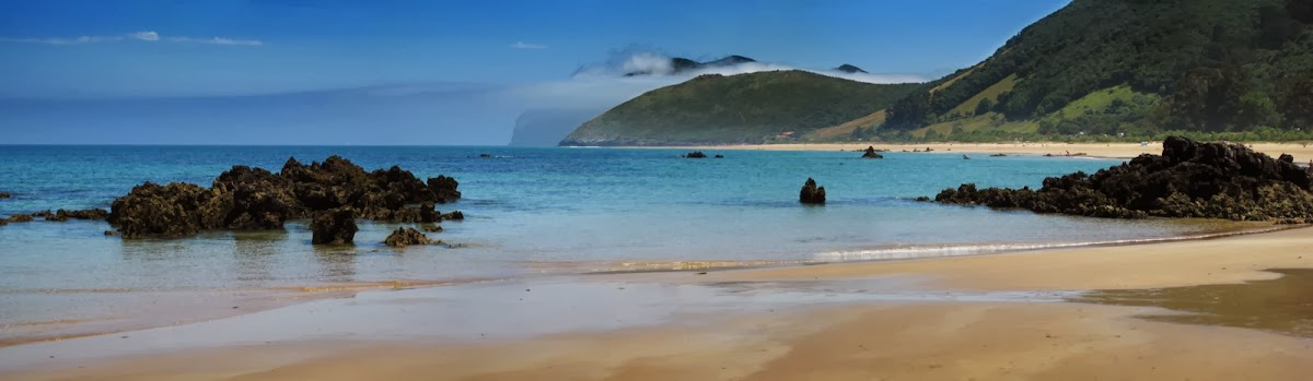 Strand vor Noja