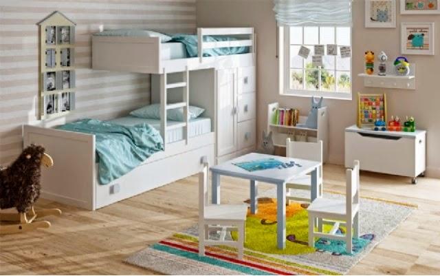 Dormitorios juveniles camas tren - Habitaciones juveniles tipo tren ...