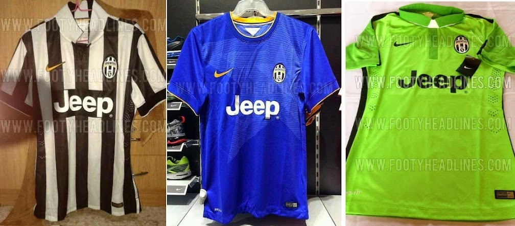 All New Juventus 2014-15 3 Kits Leaked (Home Away 3rd) 131c21f1f