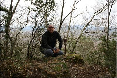 Mantxibio mendiaren gailurra 937 m.  --  2014ko apirilaren 5ean