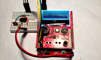 Time4EE | Electronic Engineering - News: 8bit FFT spectral anylyzer