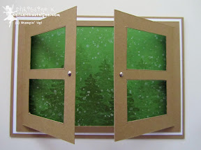 stampin up evergreen immergrün gorgeous grunge window