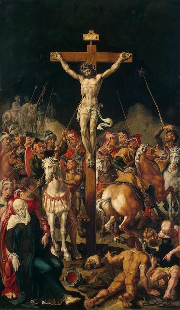 Maarten van Heemskerck - Crucifixion