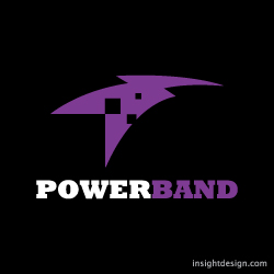 PowerBand Logo Design Kansas City, MO.