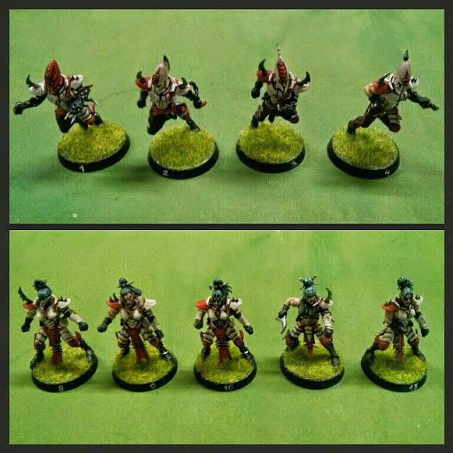 Blitzers y lineas equipo Elfos Oscuros Darth Grumpy