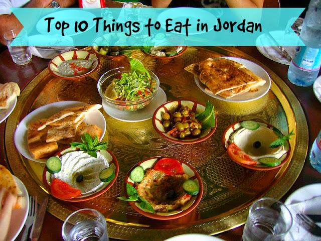 Top 10 Things to Eat in Jordan