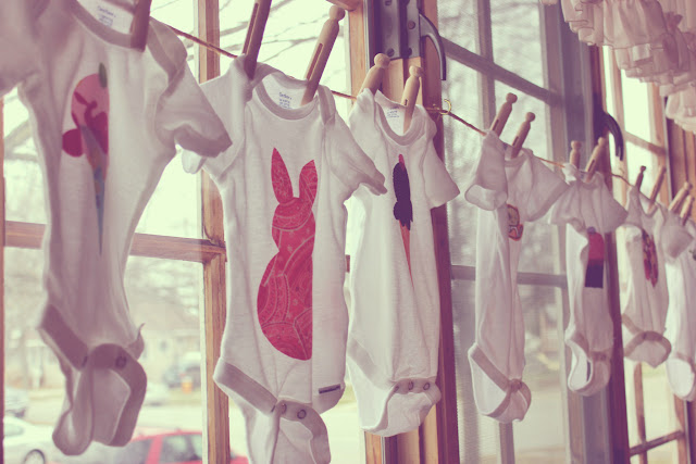 baby shower onesies