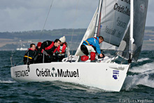 J/80 France sailing French Nationals
